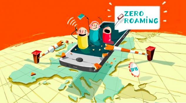 roaming i europa